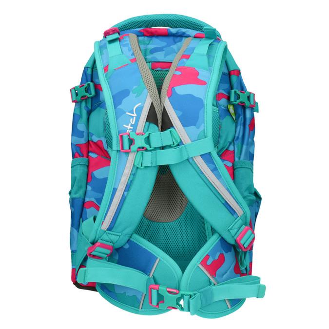 Barevný školní batoh satch, tyrkysová, 969-9087 - 26