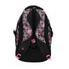 Dívčí školní batoh s potiskem bagmaster, černá, 969-5615 - 26