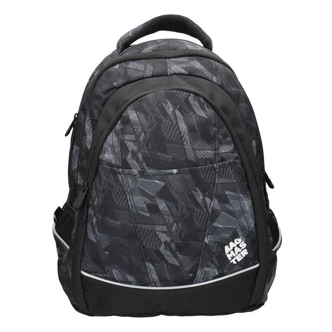 Dětský školní batoh bagmaster, černá, 969-6606 - 26