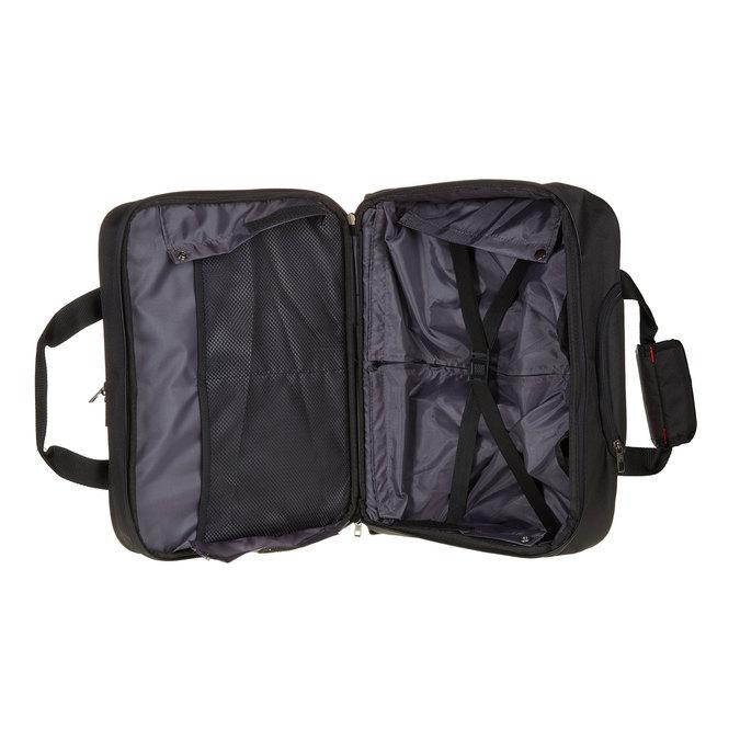 Cestovní brašna na notebook s kolečky samsonite, černá, 969-6396 - 15
