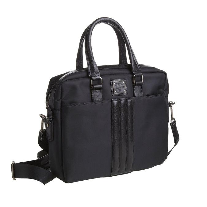 Taška na notebook bugatti-bags, černá, 969-6049 - 13