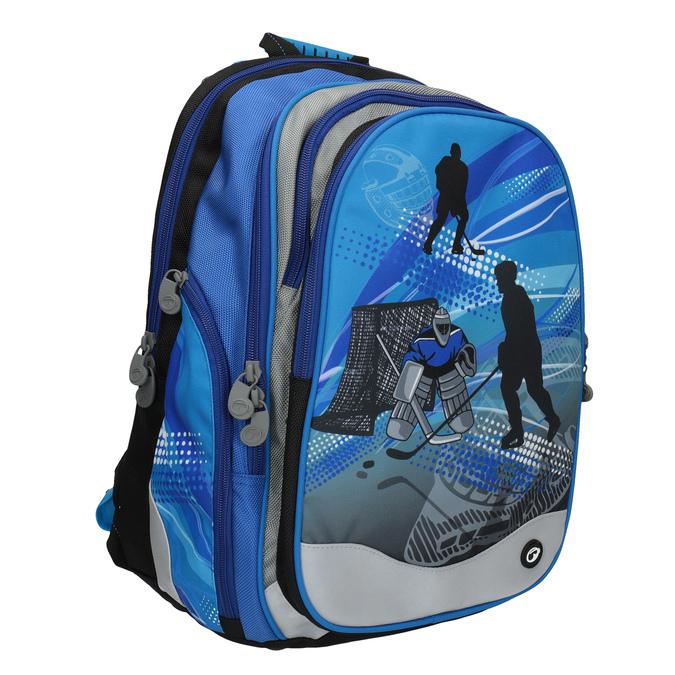 Chlapecký školní batoh bagmaster, modrá, 969-9608 - 13