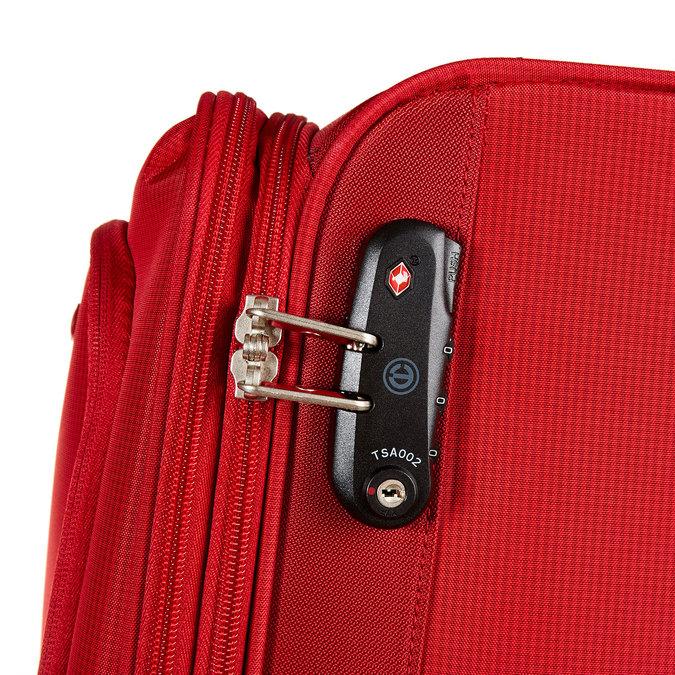 Kufr na kolečkách carlton, červená, 969-5147 - 17