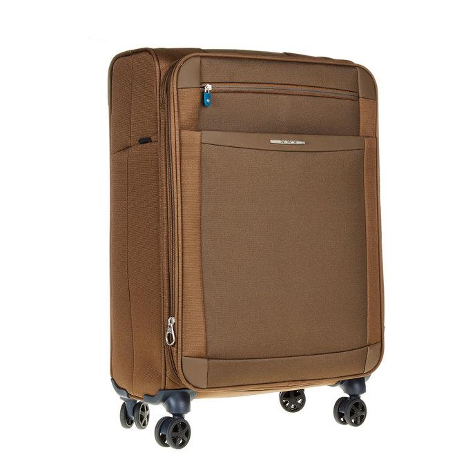 Textilní cestovní kufr na kolečkách samsonite, hnědá, 969-3342 - 13