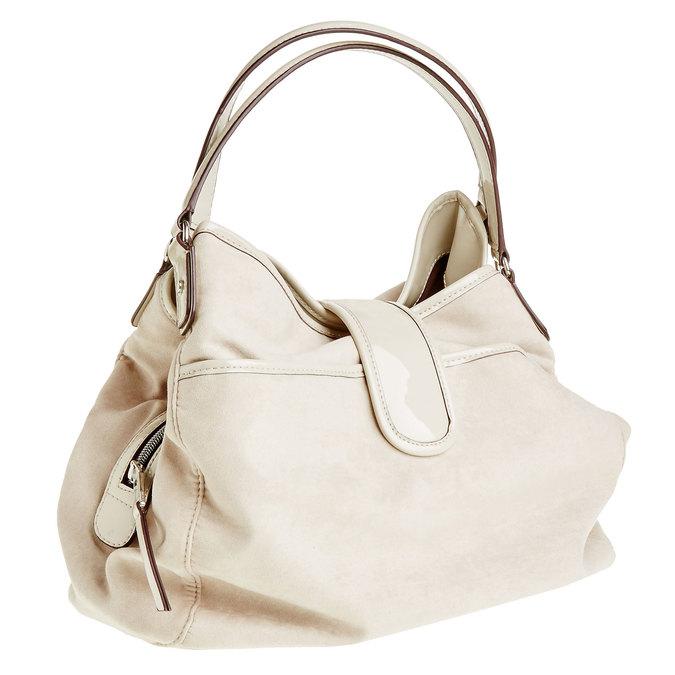 Dámská kabelka bata, béžová, 969-3280 - 13