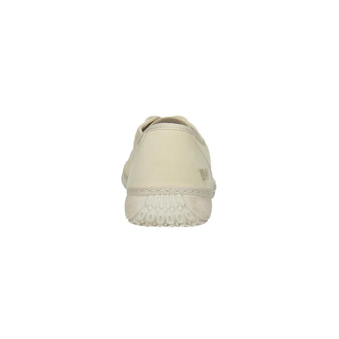 Ležérní kožené polobotky weinbrenner, béžová, 526-8610 - 17