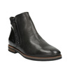 Kožená kotníčková obuv se zipy bata, černá, 596-6605 - 13