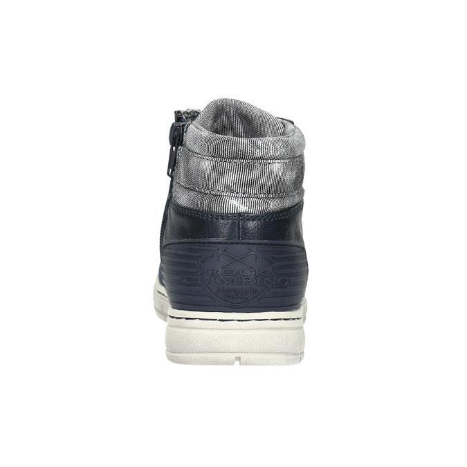 Chlapecké kotníčkové tenisky mini-b, modrá, 391-9600 - 17