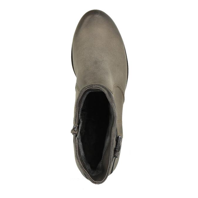 Dámská kotníčková obuv bata, šedá, 696-2617 - 19