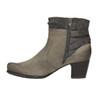 Dámská kotníčková obuv bata, šedá, 696-2617 - 26