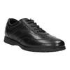 Ležérní kožené polobotky černé bata, černá, 826-6652 - 13