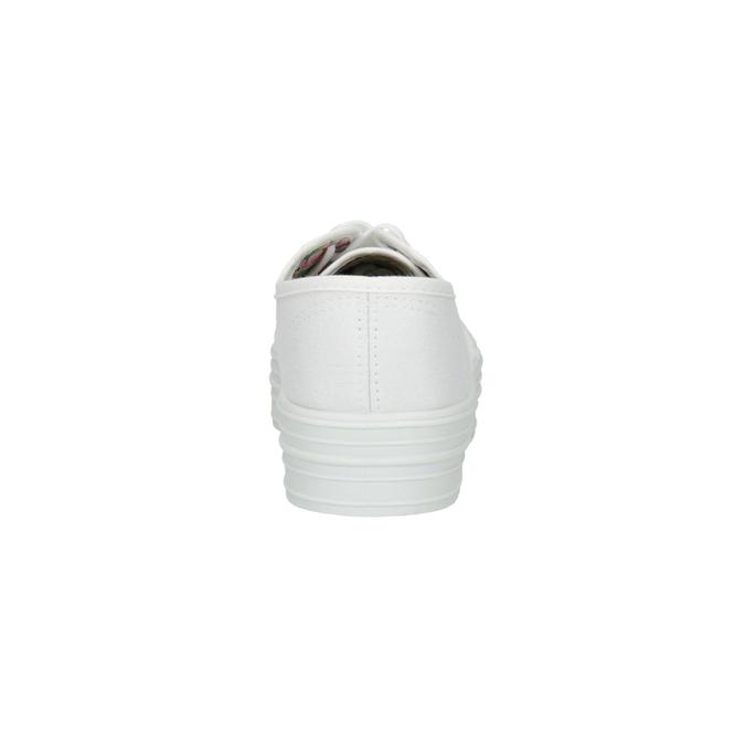 Bílé dámské tenisky bata, bílá, 529-1630 - 17