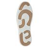 Kožené kotníčkové tenisky bata, hnědá, 844-4621 - 26