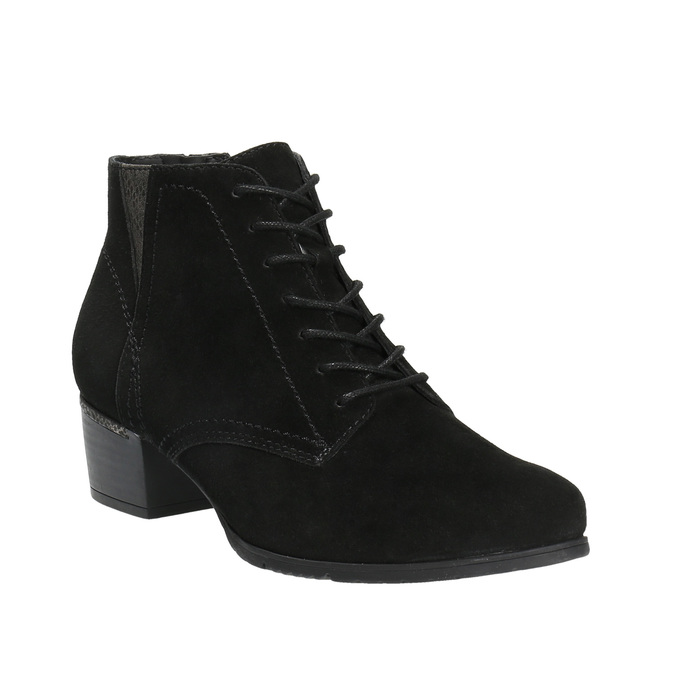 Dámská kotníčková obuv bata, černá, 693-6601 - 13