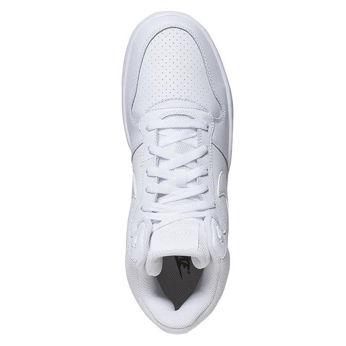 Bílé kotníčkové tenisky nike, bílá, 801-1332 - 19