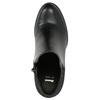 Kotníčkové kozačky na podpatku bata, černá, 791-6603 - 26