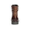 Kožená kotníčková obuv ve Wester stylu bata, hnědá, 594-4611 - 17