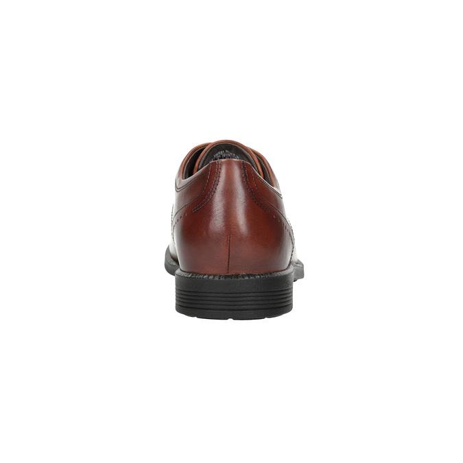 Ležérní kožené polobotky rockport, hnědá, 824-4003 - 17