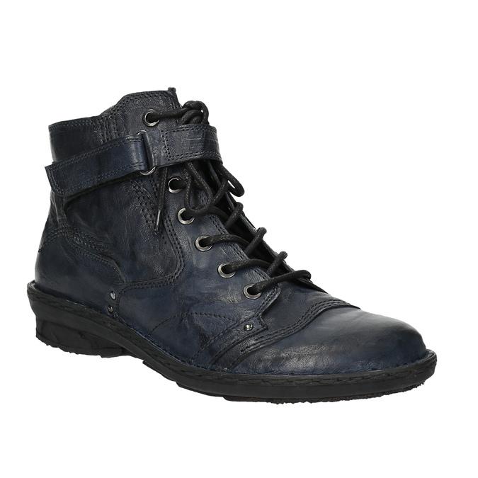 Dámská kotníčková obuv bata, modrá, 526-9602 - 13