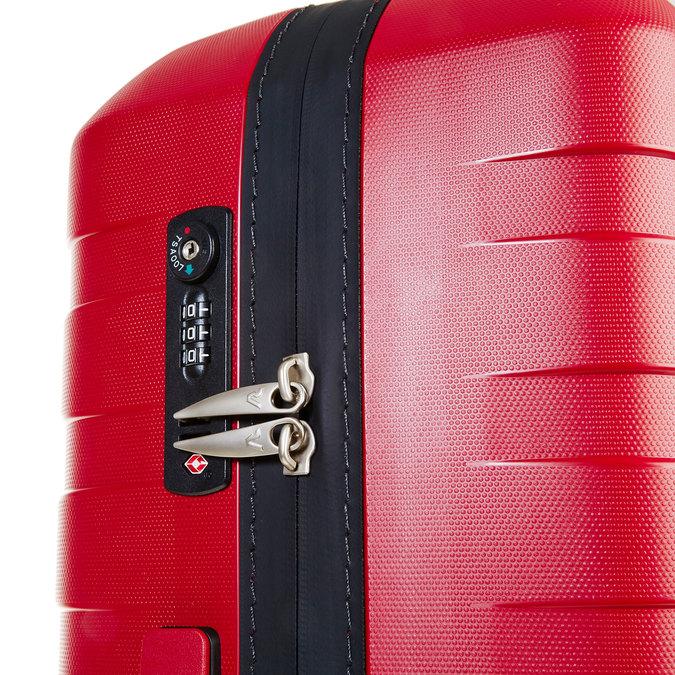 Cestovní kufr na kolečkách roncato, červená, 960-5604 - 17