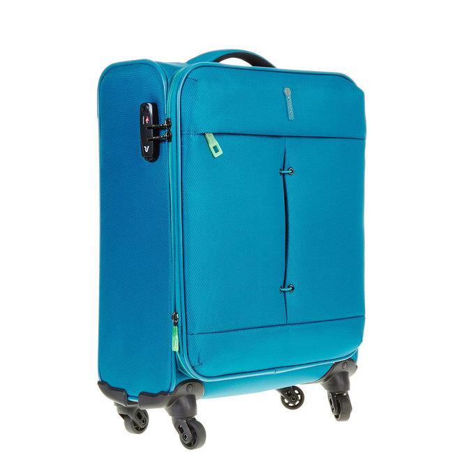 Cestovní kufrt na kolečkách roncato, tyrkysová, 969-7638 - 13