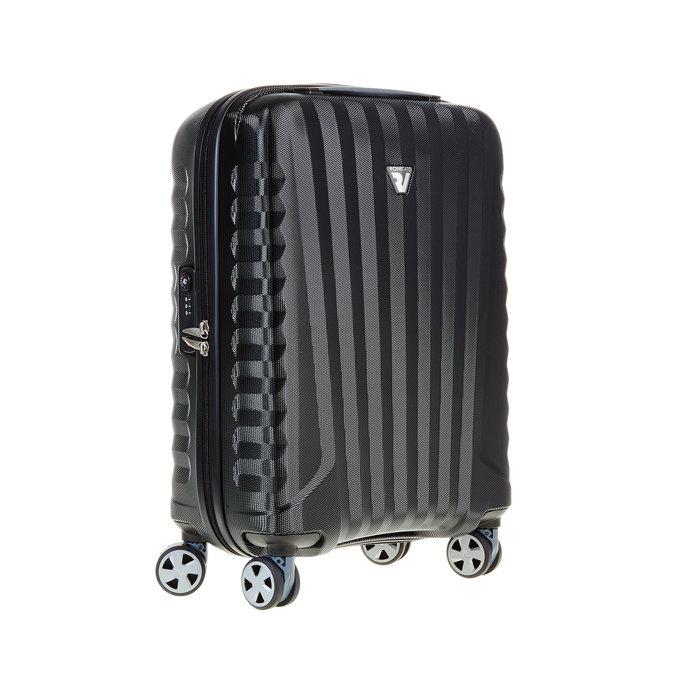 Černý cestovní kufr na kolečkách roncato, černá, 960-6602 - 13