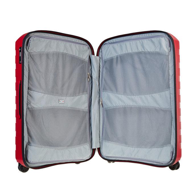 Skořepinový kufr na kolečkách roncato, červená, 960-5603 - 15