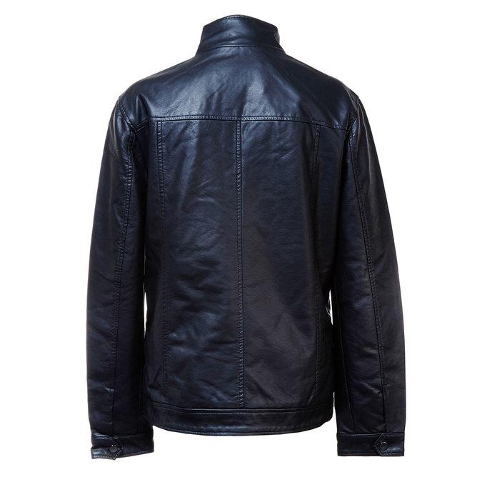 Pánská bunda s náprsními kapsami bata, černá, 971-6169 - 26