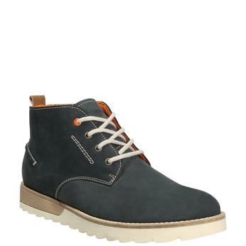 Pánské kožené chukka boots weinbrenner, modrá, 846-9629 - 13