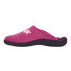 Dámská domácí obuv s výšivkou bata, růžová, 579-0603 - 26