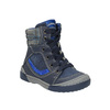 Dětská kožená obuv se zateplením bubblegummer, modrá, 116-9102 - 13