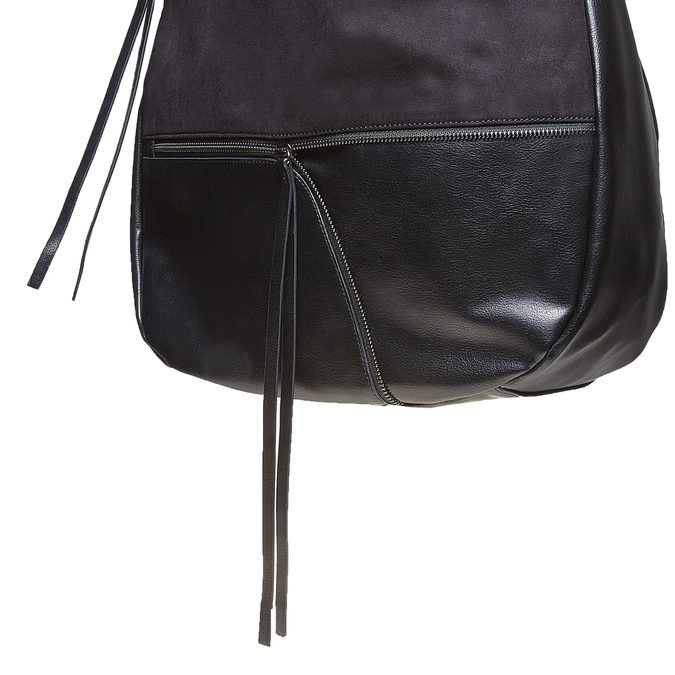 Dámská černá kabelka bata, černá, 969-6460 - 17