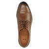 Ležérní kožené polobotky hnědé bata, hnědá, 826-3653 - 19