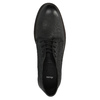 Kožená kotníčková obuv pánská bata, černá, 826-6642 - 19