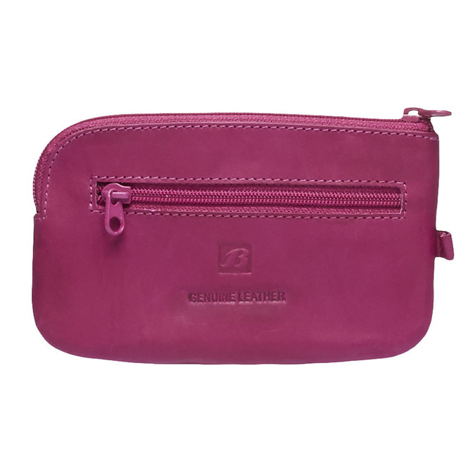 Kožená peněženka bata, růžová, 944-5161 - 26