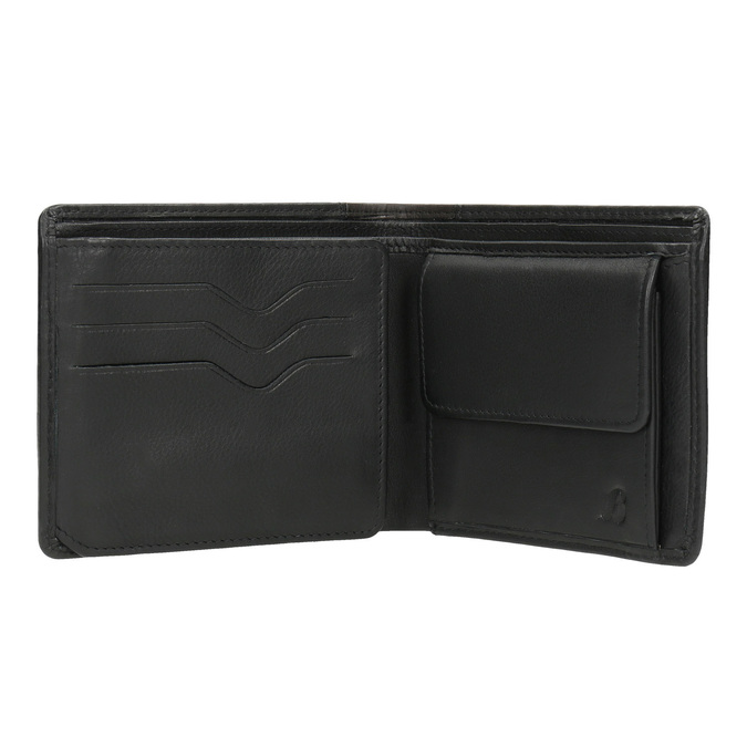 Elegantní pánská peněženka bata, černá, 944-6177 - 15