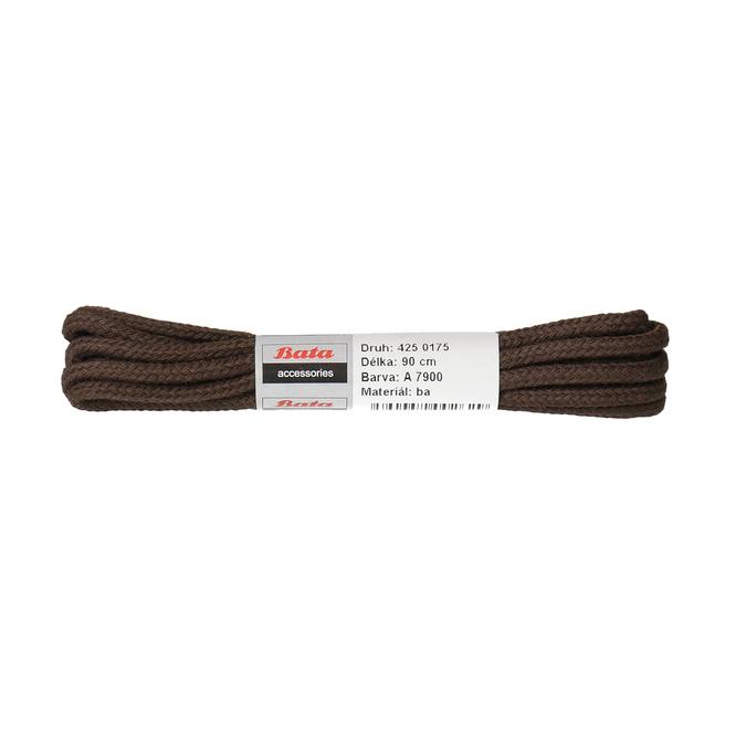 Tkaničky kulaté bavlněné 90 cm bata, hnědá, 901-4901 - 13