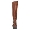Kožené dámské kozačky bata, hnědá, 596-4608 - 17