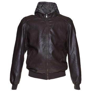 Pánská bunda s kapucí bata, hnědá, 971-4178 - 13