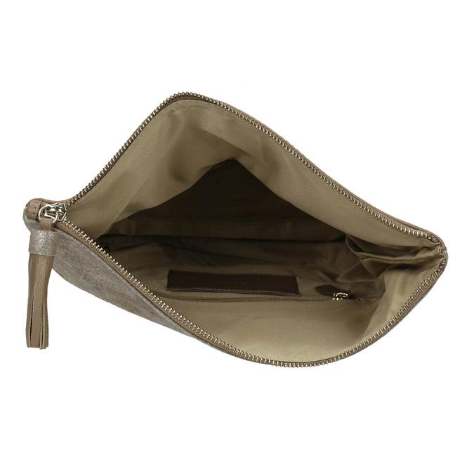 Elegantní kožené psaníčko gabor-bags, hnědá, 966-8005 - 15
