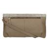 Elegantní kožené psaníčko gabor-bags, hnědá, 966-8005 - 19