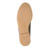 Kožená kotníčková obuv se zateplením bata, šedá, 596-2610 - 26