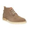 Pánské kožené chukka boots weinbrenner, hnědá, 846-4629 - 13