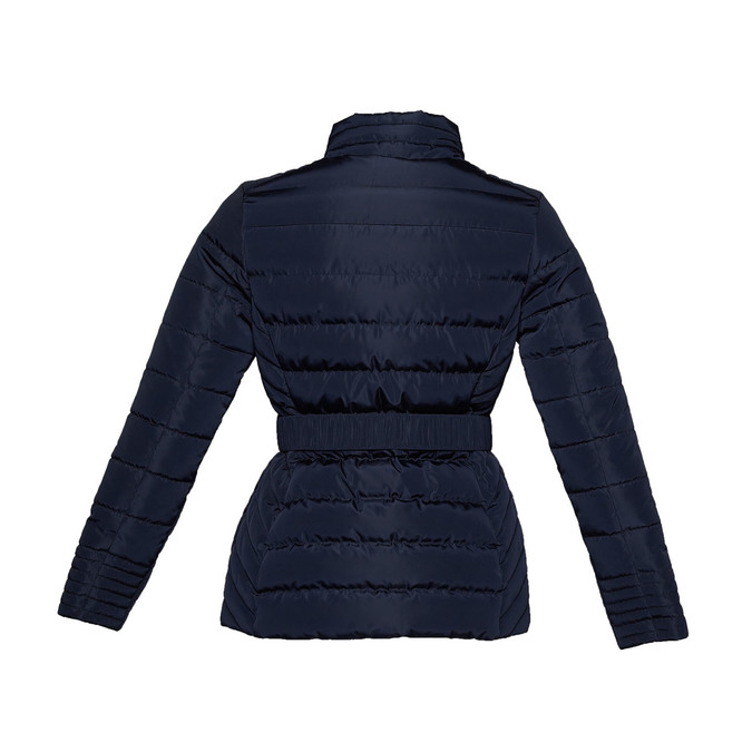 Dámská bunda se sponou bata, modrá, 979-9640 - 26