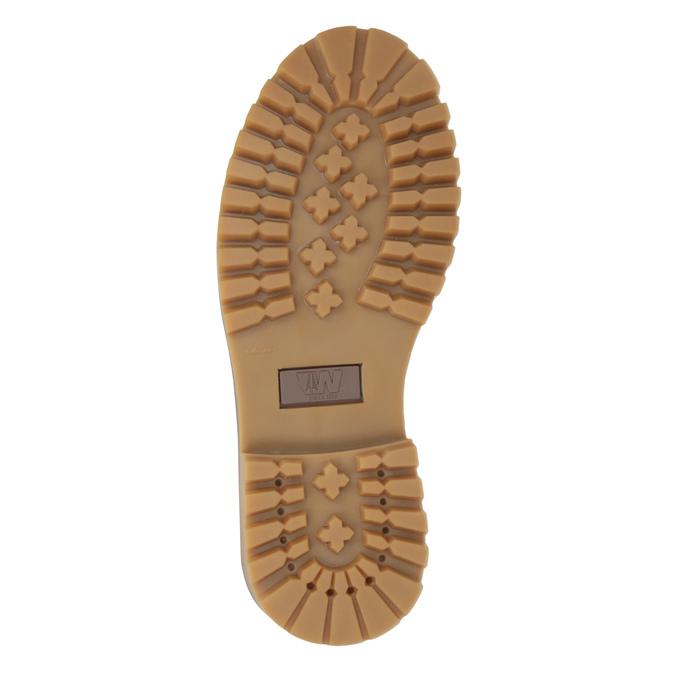 Dámská obuv ve stylu Worker Boots weinbrenner, oranžová, 596-5629 - 26