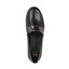 Dámské kožené Slip-on černé flexible, černá, 514-6252 - 19