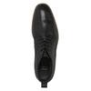 Kožená kotníčková obuv bata, černá, 894-6665 - 19