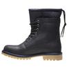 Kožená kotníčková obuv se zateplením conhpol, černá, 894-6677 - 15