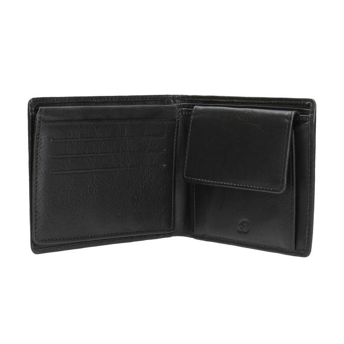 Pánská kožená peněženka bata, černá, 944-6170 - 15