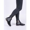 Dámské kožené Chelsea Boots bata, černá, 596-6607 - 14